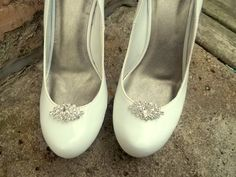 Wedding Rhinestone Shoe Clips - Bridal Shoe Clips, Rhinestone Shoe Clips, Crystal Clips for shoes, pumps Best Seller