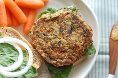 Butter Than Toast: Quinoa Burgers with Chipotle Mayo