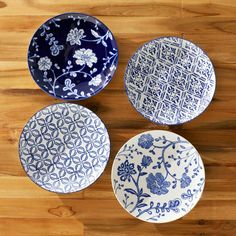 French Countryside Dinner Plates #plates #kitchen #china dotandbo.com