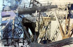 Expressive Outcome Morrison's Academy Urban Landscape, Landscape Art, Landscape Paintings, Futurism Architecture, Ap Studio Art, Beyond The Sea, A Level Art, School Art Projects, Sense Of Place