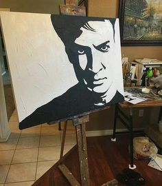 #Repost @andreabettis ・・・ My next work in progress. The paint is still wet and I can't decide if I'm adding color to Mr. @natefillion or not   #wip #workinprogress #paintinginprogress #acrylic #acrylicpaint #emergingartist #emergingartists #emergingart #art #artwork #artislife #artlife #art #artstagram #instaart #instaartist #tulsaart #tulsaartist #oklahomaart #oklahomaartist #contemporaryart #paint #painting #painterslife #nathanfillion #fanart