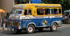 Les transports à Dakar...Sénégal!