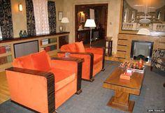 Inside Poirot's second Whitehaven Mansions apartment