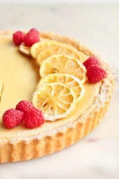 Lemon Cheesecake Tart - The Sweet and Simple Kitchen