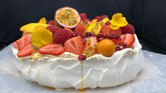 Foto: Marit Hegle Pavlova, Cheesecakes, Cake Recipes, Strawberry, Food And Drink, Gluten Free, Sweets, Cookies, Desserts