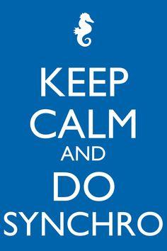 Keep calm and do synchro