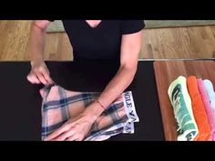 KonMari Method - How to Fold Your Clothing- Save Space and Time - YouTube