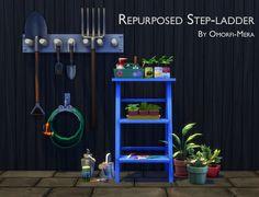 Repurposed Step-ladder at Omorfi-Mera • Sims 4 Updates