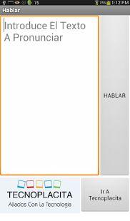 Hablar 1.0 - screenshot thumbnail