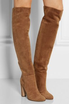 Gianvito Rossi | Suede over-the-knee boots | NET-A-PORTER.COM