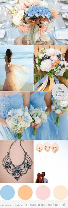 Ideas para decorar una boda en tonos pastel
