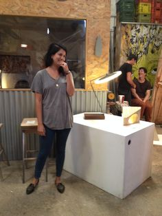 WALK TALK studio visit-  Designer Talia Janover exploring the process of Ushki design studio