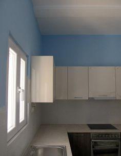 Ανακαίνιση Κουζίνας στο Μπουρνάζι - Ντουλάπια - Βαψίματα Kitchen Cabinets, Home Decor, Decoration Home, Room Decor, Cabinets, Home Interior Design, Dressers, Home Decoration, Kitchen Cupboards