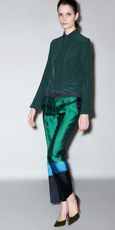 Celine. The different shades of green and blues!