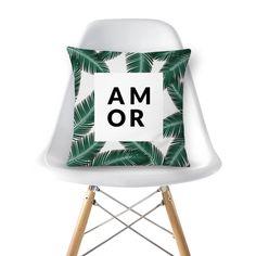 Almofada coleção amor verde de @studioponte   Colab55