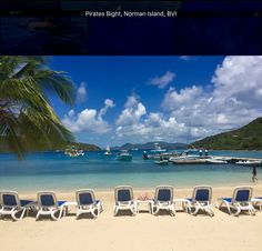 Pirates Bight, Norman Island, BVI Lunch here 6/11/16 Beautiful place.  Only the owners of the restaurant live on this island.
