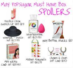 May PopSugar Must Have Box Spoilers