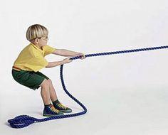 Gymles voor kleuters met het lange touw 2, kleuteridee.nl