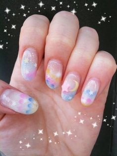 Reflections in the Mirror • Cool nails