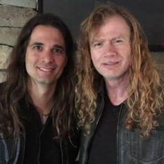Kiko Lorero e Dave Mustaine