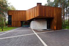 studija archispektras: house in kaunas - an autograph among the pine trees