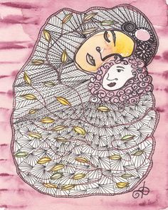 Love  Archival Giclee Limited Edition  Dawn Patel Art