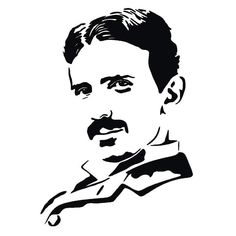 Nikola Tesla scroll saw pattern