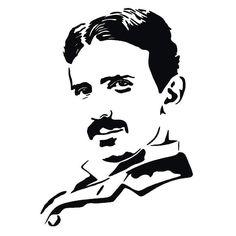 Nikola Tesla scroll saw pattern