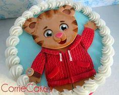 Daniel tiger cake More Daniel Tiger Birthday Cake, Daniel Tiger Cake, Daniel Tiger Party, Boy Birthday Parties, 3rd Birthday, Birthday Ideas, Daniel Tiger's Neighborhood, 1st Birthday Pictures, Family Birthdays