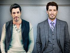 JONATHAN & DREW SCOTT...them property brothers!