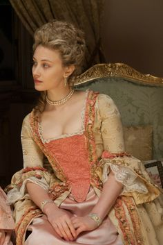 "Elizabeth in the film ""Belle."" [Courtesy Photo]"