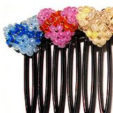 Lovely DYI Hair Combs Tutorials For Spring