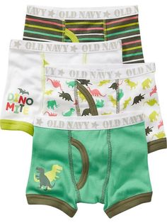 Patterned Boxer Brief 4-Packs for Baby Product Image