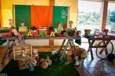 Decoração festa do Sítio do Pica-Pau Amarelo por Ateliê O Chique da festa!