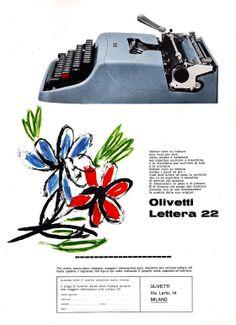 Lettera 22 Advertising, 1962