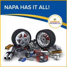 From transmission to engine kits… brakes to exhaust systems… Napa has it all! #kirkmotors #Napa #tools #parts #caymanislands
