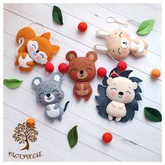 The Best Felt Paper Crafts for Beginners - Diyandart Kids Crafts, Felt Crafts Diy, Felt Diy, Fabric Crafts, Sewing Toys, Sewing Crafts, Sewing Projects, Felt Patterns, Stuffed Toys Patterns