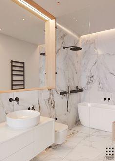 Awesome 54 Stylish Minimalist Bathroom Design Ideas. More at https://homedecorizz.com/2018/07/18/54-stylish-minimalist-bathroom-design-ideas/