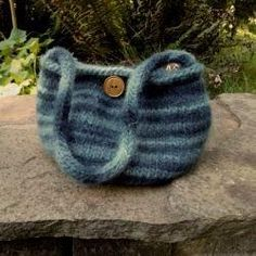 Knitted Felted Bag Pattern