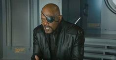 Samuel L. Jackson Returning As Nick Fury In 'Captain Marvel' #Marvel
