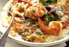 Tennessee Shrimp and Grits... Tennessee? Really? Yes.