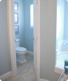 Master Bathroom Enclosed Toilet separate toilet room design ideas, pictures, remodel, and decor
