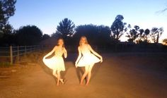 My daughter and her friend in the USA, Arizona. This is such a delightful image of youth and beauty.