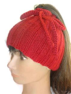 Ponytail Hat Cowl Handmade Convertible Hat by ToppyToppyKnits