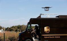Consegne UPS con i droni? Sì, è vero! Il drone può decollare dal furgone UPS per consegnare in modo autonomo un pacco a domicilio