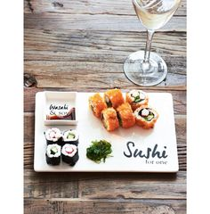 Sushi For One Plate - Autumn Collection | Rivièra Maison
