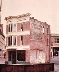 20th Street Emporium miniature building