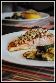 Baked Dijon Salmon...the classiest, most simple salmon recipe