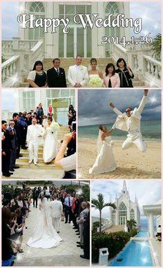 Beautiful wedding in Okinawa
