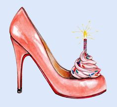 Today definitely calls for party shoes! 👠👠 Turning 30 and headed to Miami! High Heel Sneakers, Sneaker Heels, High Heels, High Heel Cupcakes, Fashion Art, Fashion Shoes, Walking In Heels, Shoe Art, Party Shoes